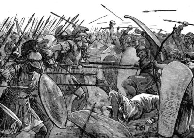 Spartans at Plataea during Trojan Wars